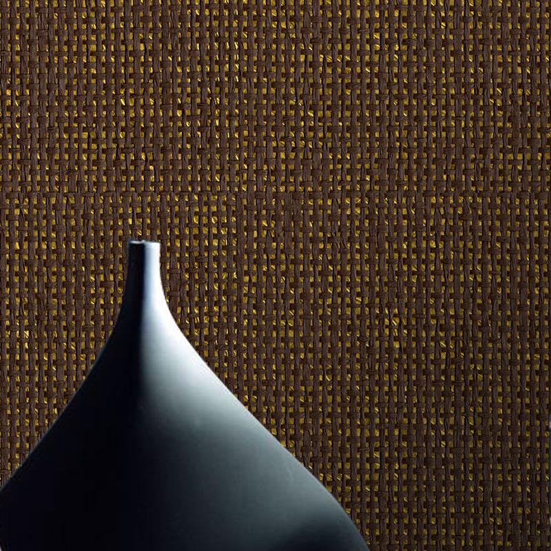 Tapeten Mediterranen Stil : material nat?rliche tapeten gelbbraun goldpapier Luxus ktv tapeten