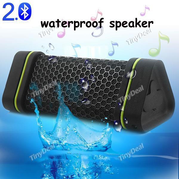 EARSON ER-151 Waterproof Speaker Outdoor Stereo Shockproof Wireless Bluetooth 2.0 Speaker Music Speakers Loudspeaker(China (Mainland))