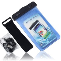 Free shipping waterproof  case for  huawei Honor 3C 3X,Ascend P6,Y511,Y320 ,U8950,U9508,U8833,Xiaomi M3 with Retail Package