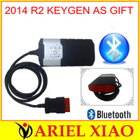 DHL freeshipping 2014 New designed 2013.3 keygen as gift ds150e with bluetooth new vci tcs cdp pro  In stock