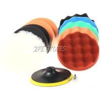 11PC 5inch M14X2 Thread Polishing pad Buffing Pad Set For Car polishing
