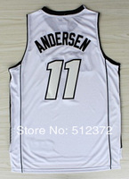 Free Shipping to all country !! #11 Chris Anderson  new material Jersey, Embroidered Logo ( all name number stitched!!)