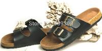 2014Summer trend of cork  casual flip flops flip professional sandals beach slippers male women's