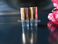 LOT SMALL 2ML EMPTY PERFUME ROLL ON ROLLER BALL GLASS BOTTLE