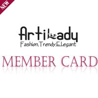 Artilady Member Card Promotion Information ! Get More Discount!