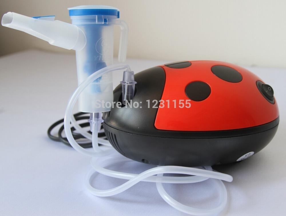 Home air compressor nebulizador nebulizador máquina para crianças / mini dos desenhos animados / nebulizador portátil(China (Mainland))