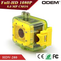 Sport Action Camera 1080P Best Waterproof Camera 60 meters wataterproof  free shipping