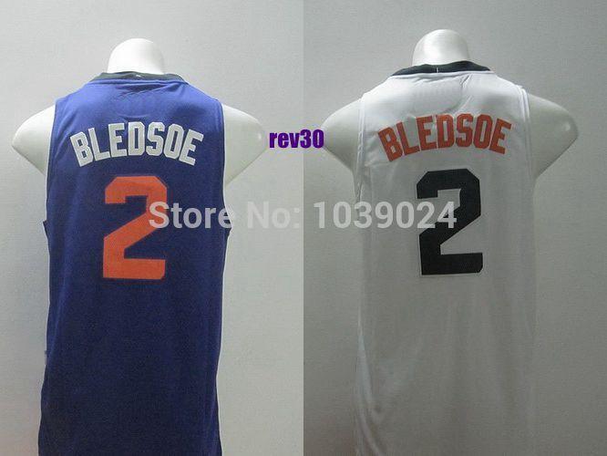 PHX #2 Eric Bledsoe Jersey Blue Orange Rev30 Basketball Jersey Eric Bledsoe New Jersey 2014 Best Quality Cheap Sale(China (Mainland))