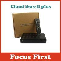 5piece Cloud ibox 2 plus/cloud ibox ii plus support 3G+ IPTV+wifi +DVB-S2 working with Blackhole,openpli,openatv