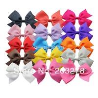"""3.5"""" girl ribbon bow hair clip wheel cheer bows hairclip hairbows,Boutique bows korean hair bow children baby girls' accessories"""