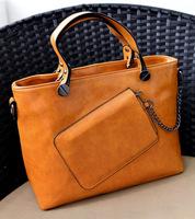 2014 fashion handbags frontier glossy four-color women shoulder bag leather  handbags ladies mesenger bags bolsas