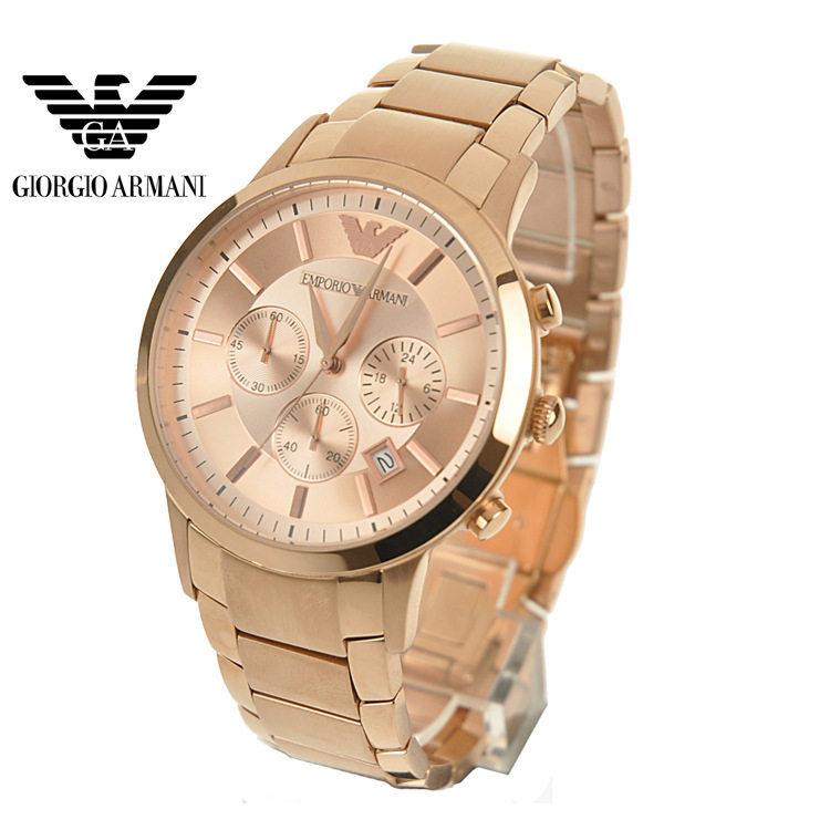 Rose Gold Watch Cheap Rose Gold Quartz Men Watch