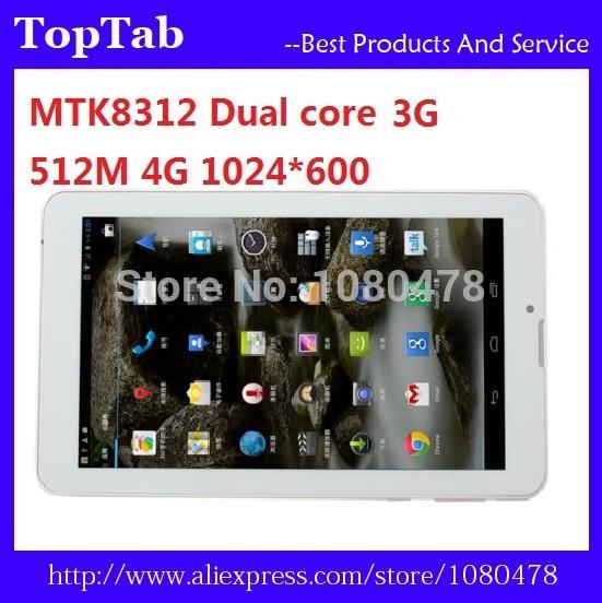 Планшетный ПК OEM 7/mtk8312 3G 512MB 4 SIM GPS Bluetooth FM banbao 8312