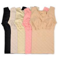 2pc/lot cotton seamless thin slimming bodyshaper shapewear push-up waist abdomen corset seamless shaper vest