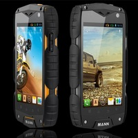 original mann zug 3 zug3 qualcomm msm8225 dual core IP68 waterproof mobile phone 512MB RAM 4GB ROM IPS Dustproof Shockproof free
