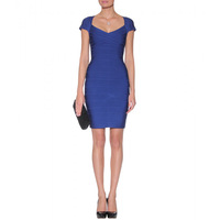 Cheap Sweetheart Neck Bandage Bodycon Dresses Cap Sleeve Dress Women New Fashion 2014 Free Shipping