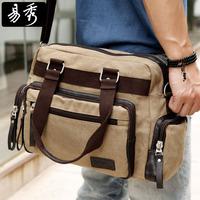 New 2014 Eshow Brand  large men messenger bag men canvas laptop handbags men travel bags military crossbody bag BFK008901