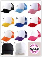 Mesh cap diy logo paintless advertising cap customize truck cap travel cap