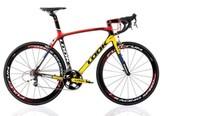 2014 LOOK 695 carbon fiber t800 bicycle frameset with aero stem and crankset size xs/m/L OEM full carbon bike frames wholesale