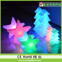 LED star light Decoration for wedding party and led waterproof lights for size 40*12*42cm