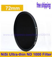 NiSi 72mm ND1000 Optical Slim Neutral Density ND 1000 Lens Filter for SLR DSLR 10 Stops 72 mm