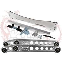 ASR REAR SUBFRAME EK 96-00 FOR HONDA CIVIC +  LOWER CONTROL ARMS LCA EK + LOWER TIE BAR EK With beaks sticker