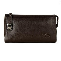 High-end men's wallet double pull double clutch brand multi-card bit large capacity free shipping men wallet -3