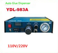 Free shipping by DHL 110V/220V Auto Glue Dispenser Solder Paste Liquid Controller Dropper YDL - 983A Dispensing system