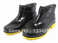 free shipping men's rainboots rubber boots waterproof shoes cow muscle 125