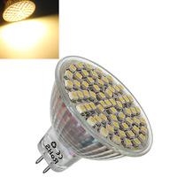 5 pcs/Lot _ MR16 4W Warm White 360LM SMD 3528 LED Spotlight Bulb 12V DC