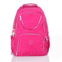 Free Shipping 5  Solid Colors Fashion Washed Nylon 2014 Latest Fashion Unisex Backpack Sport Design#HC126~HC130