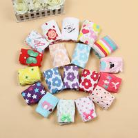 Free shipping new 2014 all seasons cartoon boys underwear girls panties children briefs 100% cotton baby & kids underwear