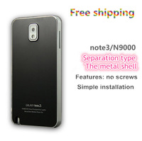 Free Shipping  Luxury Ultra-thin All Metal Aluminum Case Cover For Samsung Galaxy note 3 N9000 Note III