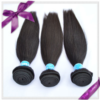 Ms Lula Peruvian virgin hair straight weaves  3/4pcs lot Color 1B Luvin Hair Products Wholesale Cheap Human Hair extensions