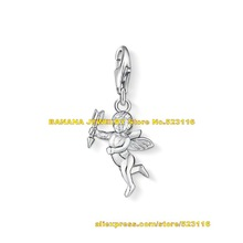 high quality 2014 new arrival Fashion ts charm diy jewelry cupid pendant 0996 – 001 – 12  fit charm bracelet Free shipping