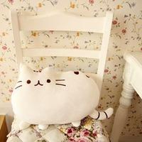 1 Pcs Cute Big Cat Shape Pillow Cushion Soft Plush Toy Doll Home Sofa Decoration Decor DropShipping