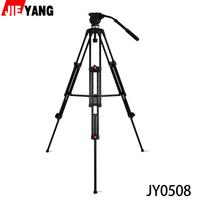 JIEYANG JY0508 JY-0508  8KG Professional Camera Tripod Video Tripod/Dslr VIDEO Tripod Fluid Head Damping for video