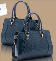 Hot Sale New 2014 Fashion Desigual Brand Crocodile Women Handbag Leather Shoulder Bags Women Messenger Bags Totes Bolsas P108
