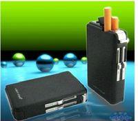 Automatic smoke cigarette case belt black lighter metal lighter windproof lighter
