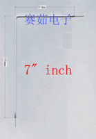 """160mm+93mm    CCFL """"L"""" shape LCD cold cathode fluorescent lamp for 7 INCHS LCD SCREEN panel"""
