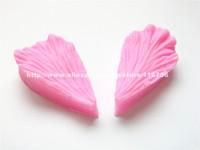 Free Shipping Leaf Shaped Silicone Press Mold Cake Decoration Fondant Cake 3D Food Grade Silicone Mould 071