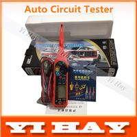 Automotive circuit tester, test lamp, lighting, probe, multimeter (voltage, resistence, diode, buzzer, etc.) car circuit detecor