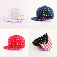 new fashion cute whole star hip hop children snapback caps whoesale brand kids boy girl cute baseball cap child snap backs hats