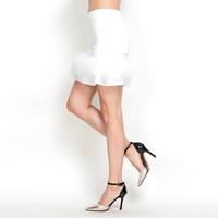 YIGELILA 5151 Women Girls Firebird Feathers Skirts Slim Style Two Colors 2014 Free Shipping