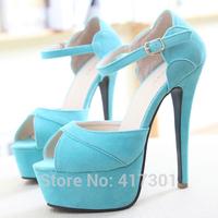 Новая мода золотой блеск заглянуть ног платформы насосов женский свадебный открытых ног ультра высокие каблуки женщин красный снизу партии обувь