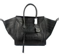 Brand Name bag Crocodile leather handbag Fashion Guaranteed 100% genuine leather designers brand tote bags women messenger bags