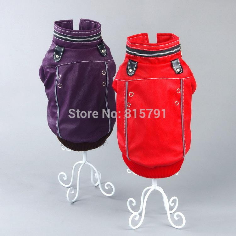 Free shipping dog clothing for pets wholesale dog product jacket dog cheap dogs clothes warm chihuahua yorkie pug pitbull poodle(China (Mainland))