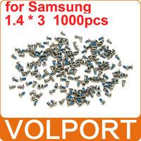 1000pcs 100% Original Brand New Repair Replacement Part 1.4 x 3 Screws for Samsung Galaxy S3 S4 I9300 I9500 I699 Mobile Phone