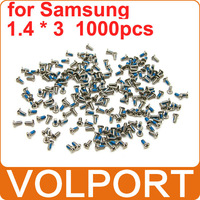 1000pcs 100% Original Brand New Repair Spare Parts 1.4 x 3 Screws for Samsung Galaxy S3 S4 I9300 I9500 I9505 I699 Mobile Phone