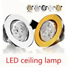 Freeshipping 1X  9W  12w led Ceiling Epistar LED ceiling lamp Recessed Spot light 110V-220V for home illumination(China (Mainland))